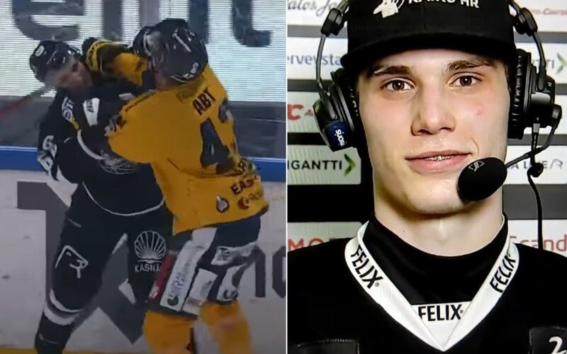 """VIDEO: """"Chcel sa biť, tak som mu ukázal, kde je Slovensko."""" Takto zložil mladý hokejista kanadského súpera."""