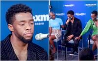 Chadwick Boseman sa v rozhovore o zosnulých deťoch trpiacich rakovinou rozplakal. Herec v tej dobe už o svojej chorobe vedel