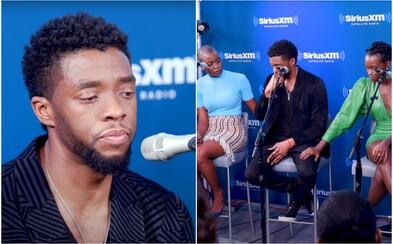 Chadwick Boseman se v rozhovoru o zesnulých dětech trpících rakovinou rozplakal. Herec v té době už o své nemoci věděl