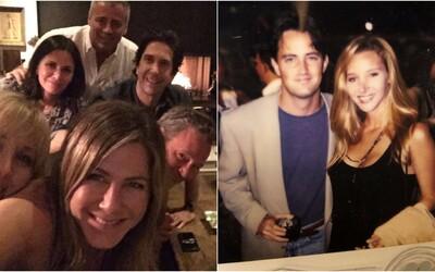 Chandler z Priateľov si ako posledný z partičky hercov založil Instagram. Vystrelí podobne ako Jennifer Aniston?