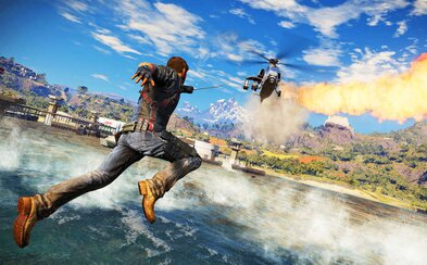 Chaotický gameplay trailer odhaluje Just Cause 3 plný destrukce