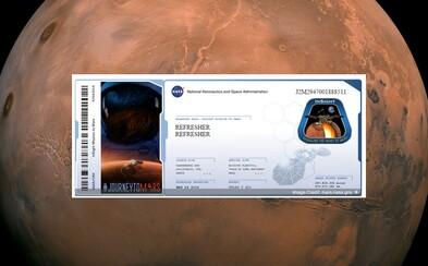 Chceš letenku na Mars? Sonda InSight vynesie mená tisícov nadšencov na červenú planétu už v marci