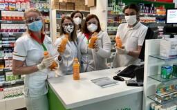 Chceš podpořit naše zdravotníky, hasiče a lékárníky v boji s pandemií? Pošli jim vitamínovou injekci