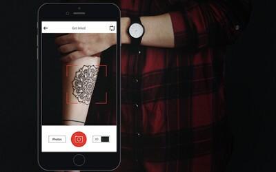 Chceš se dát tetovat, ale nemáš přesnou představu, jak bude tvá kérka vypadat? Nová aplikace ti pomůže s výběrem