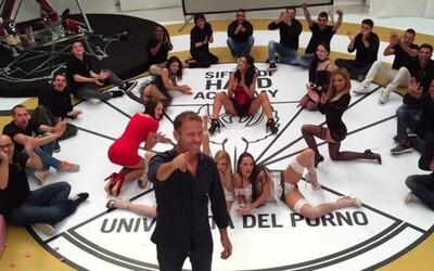 Chceš se stát profesionálním pornohercem? Universita del Porno ti to umožní