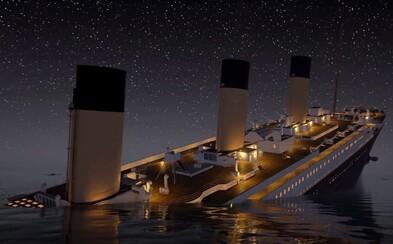 Chceš zažiť potápanie Titanicu? Netradičný simulátor odhaľuje, ako to na palube v čase katastrofy vyzeralo