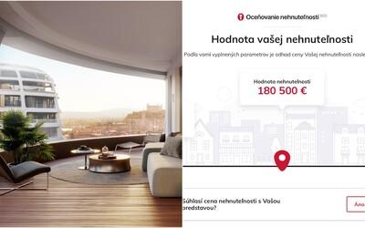 Chceš zistiť, koľko stojí tvoj byt? Špeciálna kalkulačka na nehnuteľnosti to vypočíta za teba