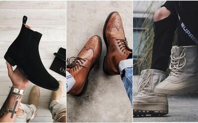 Chelsea boots, brogue či kachní nohy. Nejlepší typy pánských bot pro chladné měsíce