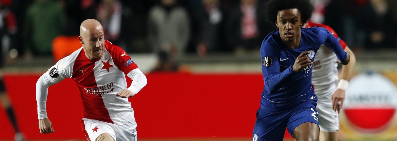 Chelsea poráží Slavii gólem v samotném závěru zápasu