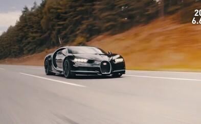 Chiron predviedol famózny šprint z 0 na 400 km/h len za 32,6 sekundy. Ako to však Bugatti natočilo?!