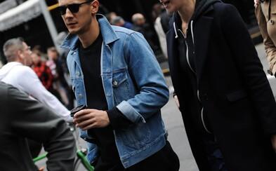 Chladná jeseň v uliciach New Yorku prostredníctvom Street Style záberov slúži ako vhodná inšpirácia pre pánov