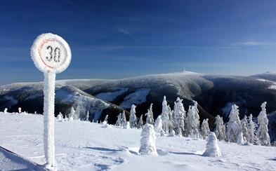 Chladné dny na českém území přetrvají. Meteorologové varují před teplotami kolem minus 20