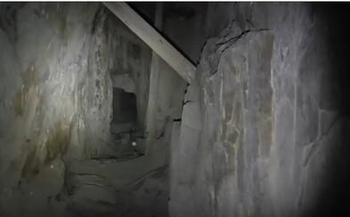 Chlapík preskúmavajúci 150-ročnú opustenú baňu zachytil démonické hlasy ako z hororu. V hlbokých chodbách ho prosili, aby im pomohol