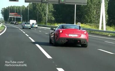 Chlapík šiel po slovenskej diaľnici vo Ferrari 239 kilometrov za hodinu. Nemal problém ani s 800-eurovou pokutou