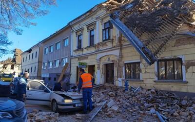 Chorvatsko zasáhla další dvě zemětřesení, zemřelo již minimálně 7 lidí