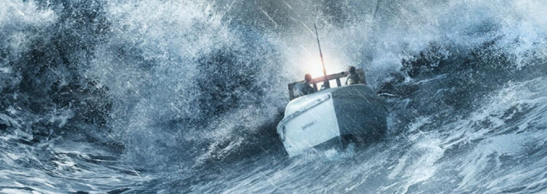 Chris Pine ako Kirk síce ovláda Enterprise, v búrlivých vodách oceánu má však problémy aj s menšou loďou
