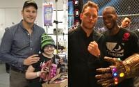 Chris Pratt vo voľnom čase rozveseľuje choré deti. Okrem toho je ale aj vášnivým rybárom a skvelým otcom