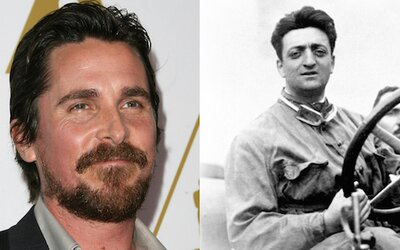 Christian Bale je Enzo Ferrari v dlouho připravovaném projektu režiséra Michaela Manna