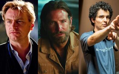 Christopher Nolan a Denis Villeneuve vynášajú do nebies A Star is Born či First Man a ich režisérov považujú za úžasných filmárov
