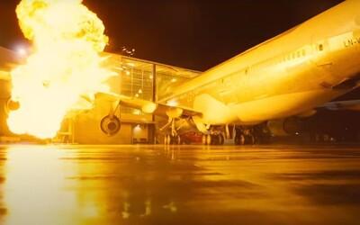 Christopher Nolan nechal pro film vybuchnout skutečný Boeing 747. Tenet se snaží natočit s minimem počítačových triků