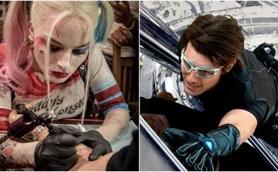 Christopher Walken rád krotí levy, Tom Cruise riskuje život a Margot Robbie tetuje. 10 hercov, ktorých talent presahuje herectvo