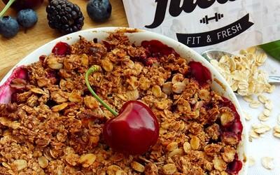 Chrumkavé crumble plné šťavnatého ovocia (Recept)