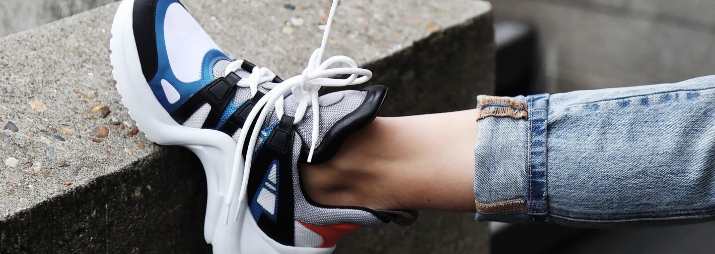 Chunky sneakers aktuálně ovládají svět obuvi. Po kterých se vyplatí sáhnout?