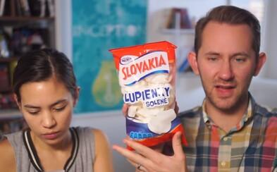 Chutili americkému páru slovenské sladkosti a slané pochúťky? Pri niektorých z nich sa dosť čudovali