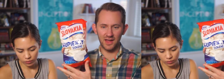 Chutnaly americkému páru české a slovenské sladkosti a slané pochoutky? U některých se hodně divili