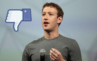 """Chystá Facebook tlačidlo """"Nepáči sa mi to"""", alebo budeš môcť niekoho virtuálne """"Objať""""?"""