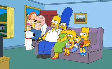 Chystá sa celovečerná snímka Family Guy a pokračovanie Simpsonovcov vo filme