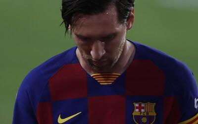 Chystá se Messi odejít z Barcelony?