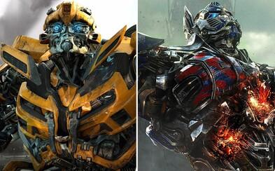 Chystajú sa dva nové Transformers filmy. Čaká nás reštart hlavnej série aj pokračovanie Bumblebeeho?