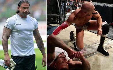 Chytával za Německo a zajímal se o něj bílý balet. V současnosti má 129 kilogramů a plní si svoji touhu stát se wrestlerem
