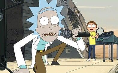 Chytľavá skladba Terryfold z 3. série Ricka a Mortyho sa dostala do rebríčka najlepších rockových skladieb súčasnosti