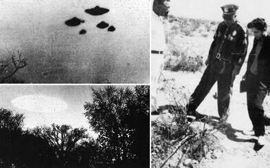 CIA zverejnila utajované zábery týkajúce sa UFO nad USA či Veľkou Britániou