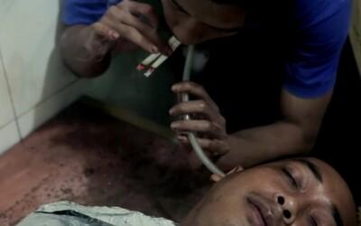 Cigaretové terapie na klinike v Indonézii