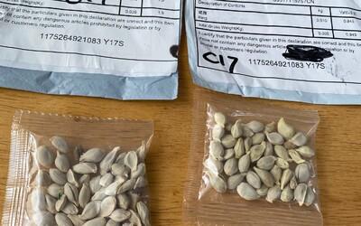 Čína posílá lidem tajemné zásilky s neznámými semeny. Nesázejte je,  může jít i o bioterorismus, radí ministerstvo