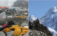 Čína už turisty na Mount Everest nepustí. Horu totiž zahltili odpadem