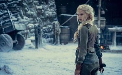 Ciri trénuje na hradě Kaer Morhen. První obrázky z 2. série Zaklínače ukazují její nový kostým i účes