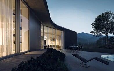 Čisté línie a luxus v kombinácii s modernou. Mladí českí architekti predstavujú bývanie snov s výhľadom na Beskydy