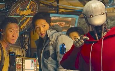Čističi vesmíru sú najnovším blockbusterom od Netflixu. Trailer ti predstaví vtipné postavy vo svete sci-fi