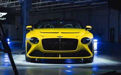 Čistě benzínové Bentley bude v nabídce už jen 5 let. Pak značka přejde výhradně na plug-in hybridy a elektromobily