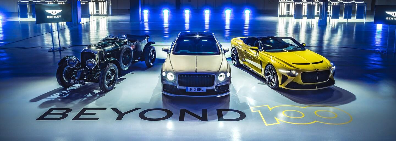 Čisto benzínové Bentley bude v ponuke už len 5 rokov. Potom prejdú výlučne na plug-in hybridy a elektromobily