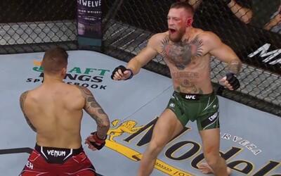 Cítím se úžasně, vzkázal Conor McGregor po tříhodinové operaci nohy. Poirierová výhra podle něj není legitimní