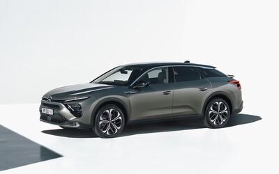 Citroën má novú vlajkovú loď. C5 X má svojský dizajn a výhradne  benzínové a plug-in hybridné motory