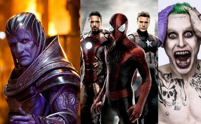 Civil War, X-Men: Apocalypse, Suicide Squad a Independence Day 2 skončili svoje natáčanie