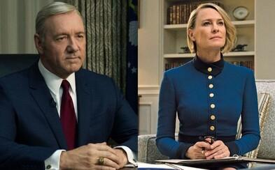 Claire Underwood je po Frankovej smrti obklopená nepriateľmi. Prvú prezidentku USA čaká krutý boj o moc