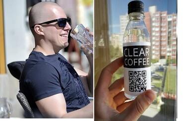 Clear Coffee: Nápoj, který si na první pohled spletete s obyčejnou minerálkou, je ve skutečnosti káva (Rozhovor)