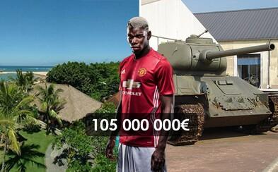 Čo by sa dalo kúpiť za 105 miliónov eur namiesto jedného Paula Pogbu?